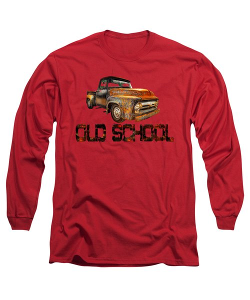 Old Truck Right Attitude Long Sleeve T-Shirt