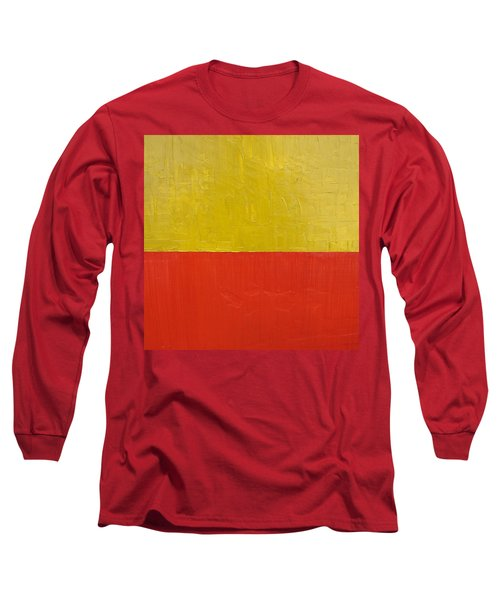 Olive Fire Engine Red Long Sleeve T-Shirt