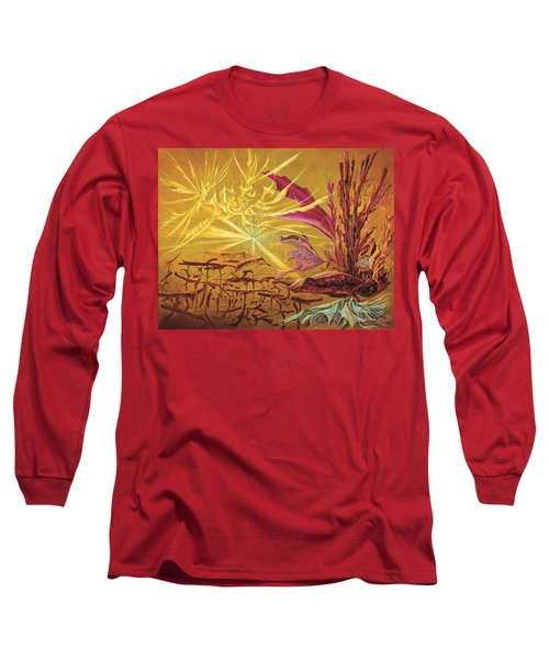 Olivier Messiaen Landscape Long Sleeve T-Shirt by Charles Cater