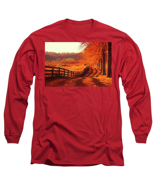 On A Day Like Today Long Sleeve T-Shirt by Iryna Goodall