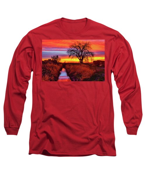 On The Horizon Long Sleeve T-Shirt by Greg Norrell