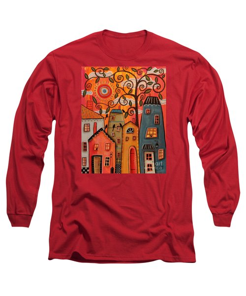 One Afternoon Long Sleeve T-Shirt by Karla Gerard