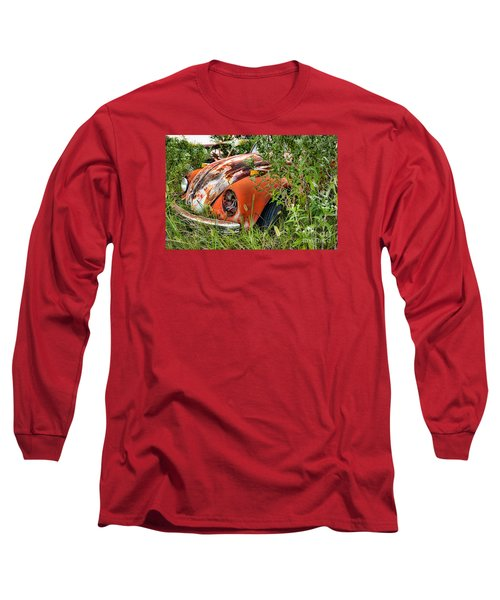 Long Sleeve T-Shirt featuring the photograph One Eyed Bug by Lawrence Burry