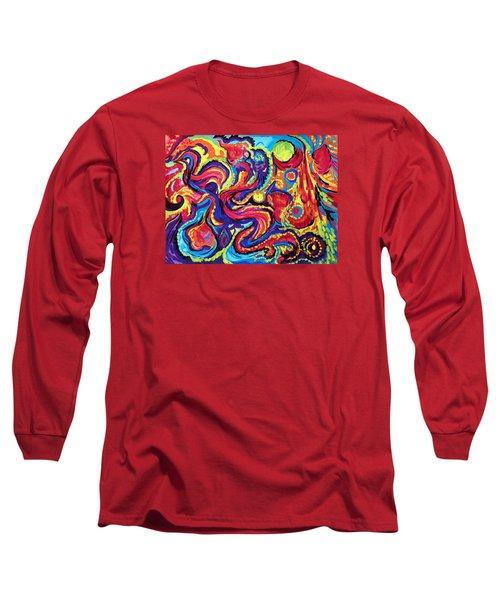 Birth Long Sleeve T-Shirt by Marina Petro