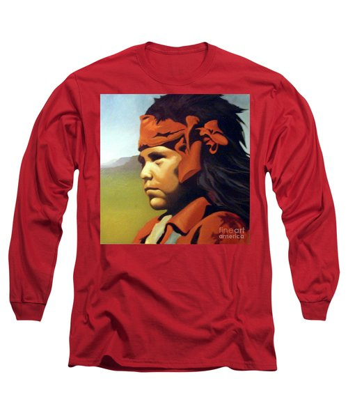 One Who Soars With The Hawk Long Sleeve T-Shirt