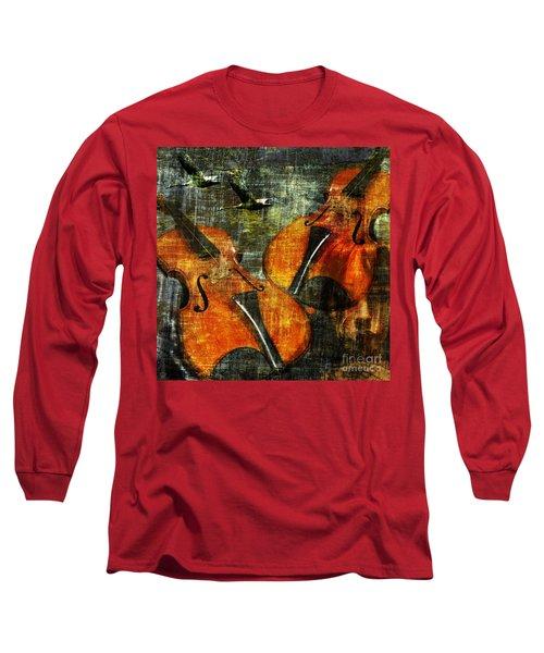 Only Music Heals A Broken Heart Long Sleeve T-Shirt