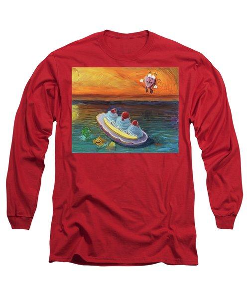 Open Heart Long Sleeve T-Shirt