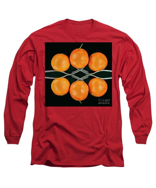 Orange Balance Long Sleeve T-Shirt