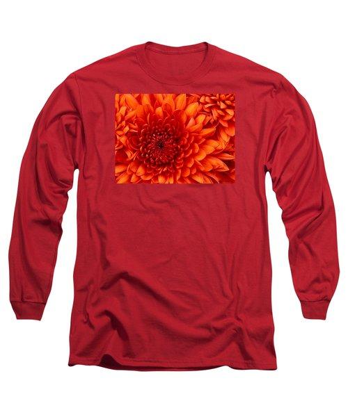 Orange Bloom Long Sleeve T-Shirt