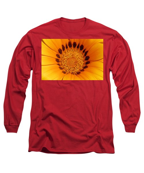 Orange Burst - Daisy Long Sleeve T-Shirt