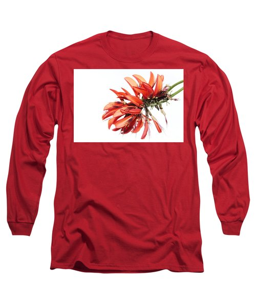 Long Sleeve T-Shirt featuring the photograph Orange Clover I by Stephen Mitchell