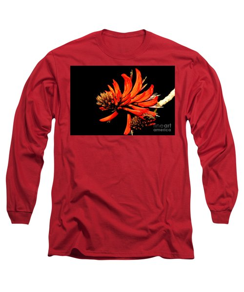 Long Sleeve T-Shirt featuring the photograph Orange Clover II by Stephen Mitchell