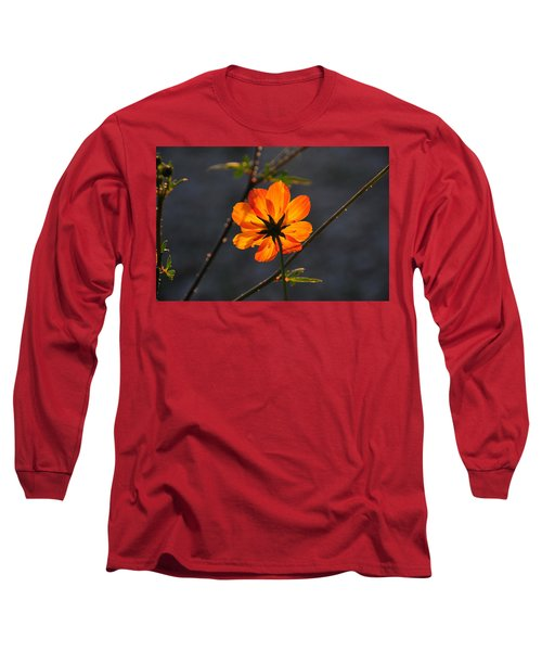 Orange Cosmo Long Sleeve T-Shirt