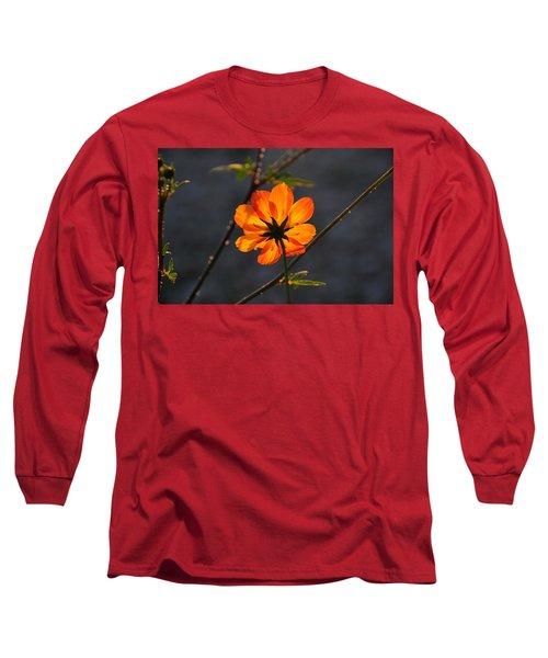 Orange Cosmo Long Sleeve T-Shirt
