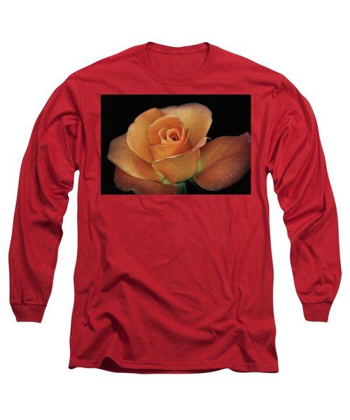 Orange Cream Long Sleeve T-Shirt by Elaine Malott