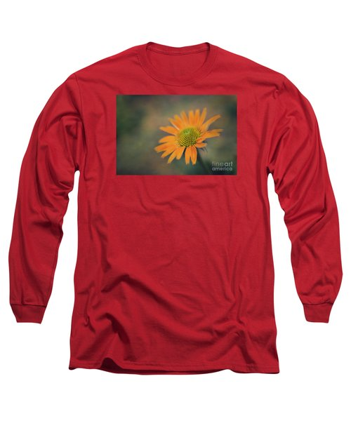 Orange Echinacea Dreams Long Sleeve T-Shirt