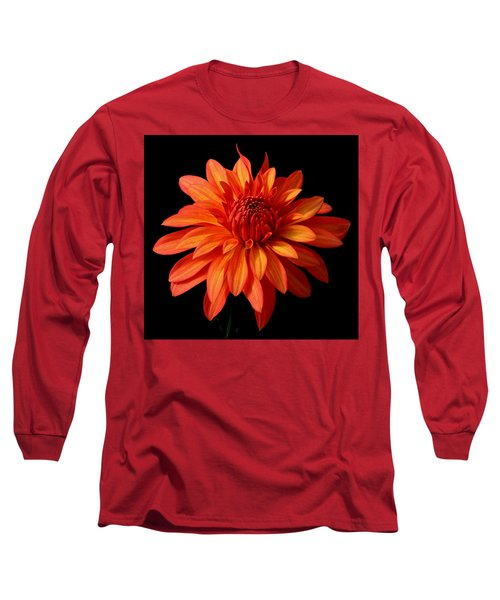 Orange Flame Long Sleeve T-Shirt