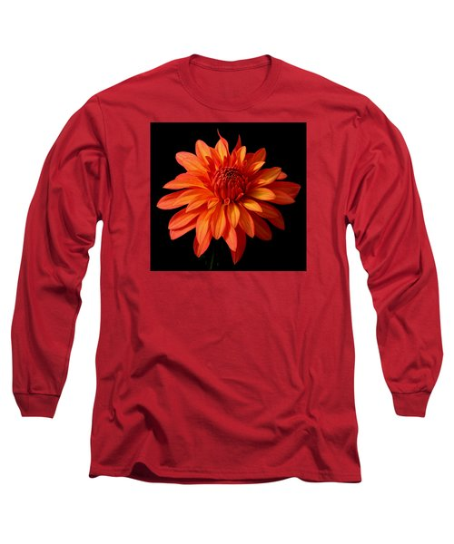 Orange Flame Long Sleeve T-Shirt