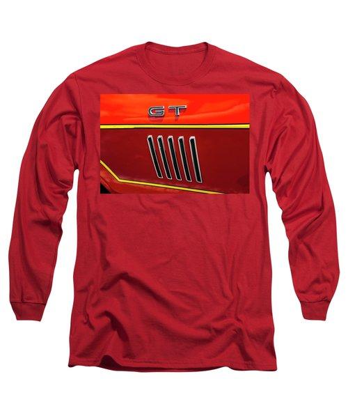 Orange Gt Long Sleeve T-Shirt