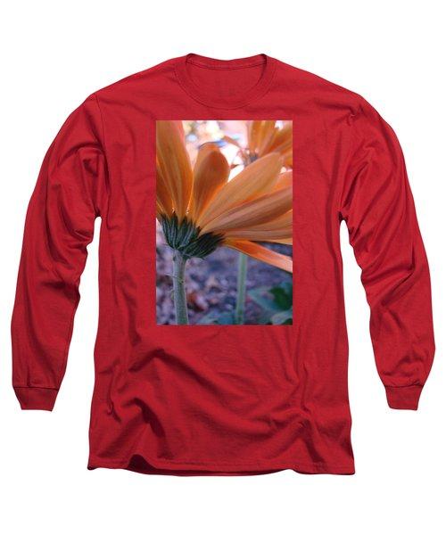 Orange Lady Long Sleeve T-Shirt