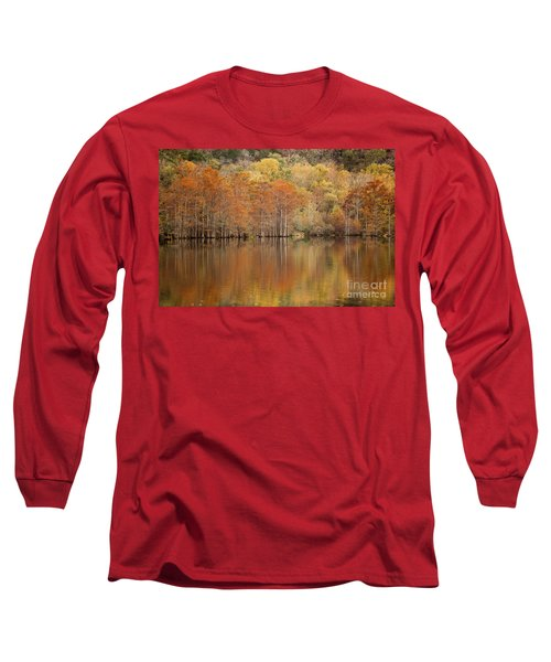 Orange Pool Long Sleeve T-Shirt