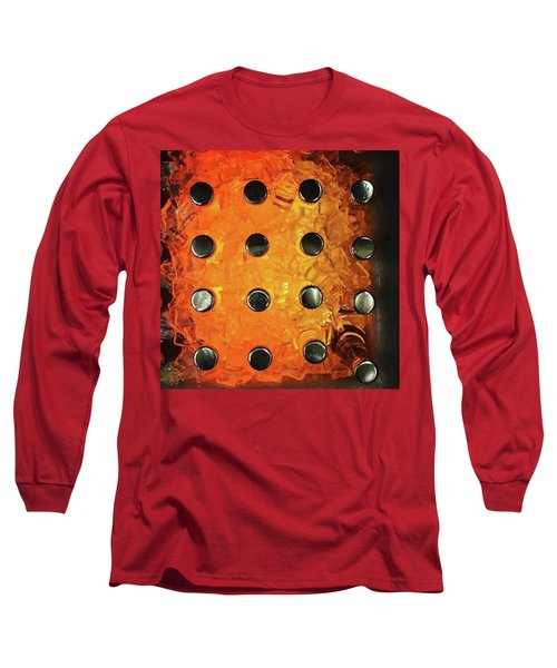 Orange Pop! #orange #pop #sodapop Long Sleeve T-Shirt