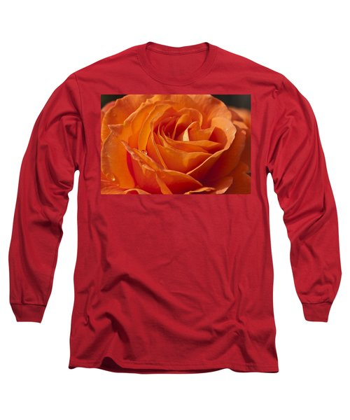 Orange Rose 2 Long Sleeve T-Shirt