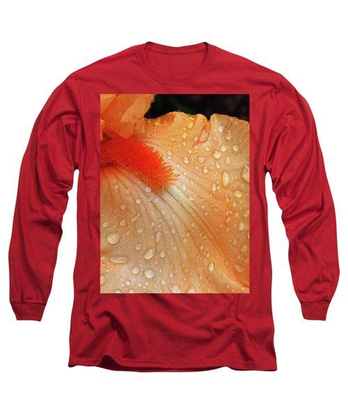Orange Sherbet Long Sleeve T-Shirt