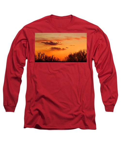 Orange Sky At Night Long Sleeve T-Shirt