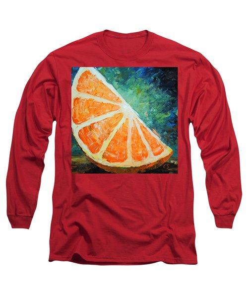Orange Slice Long Sleeve T-Shirt