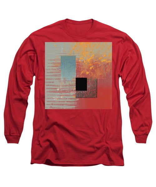 Orange Splash Long Sleeve T-Shirt