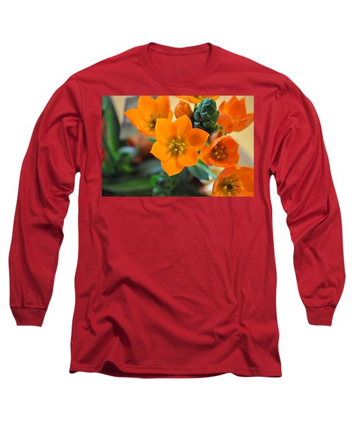 Orange Star Long Sleeve T-Shirt