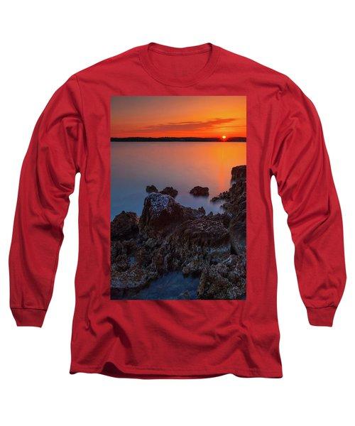 Orange Sunrise Long Sleeve T-Shirt