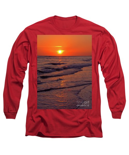 Orange Sunset Long Sleeve T-Shirt