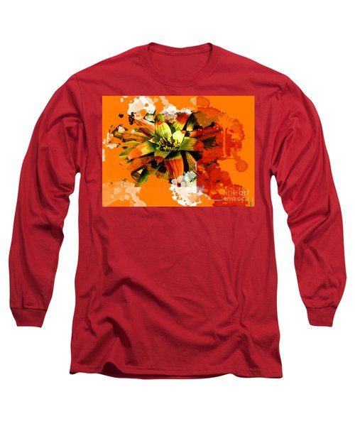 Orange Tropic Long Sleeve T-Shirt