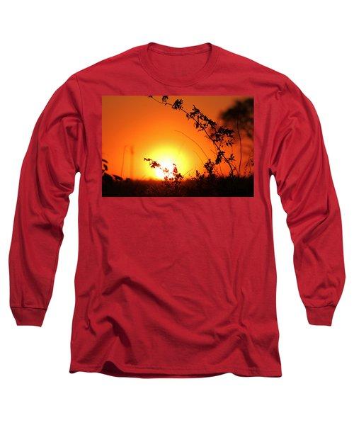 Orange Wonder Long Sleeve T-Shirt