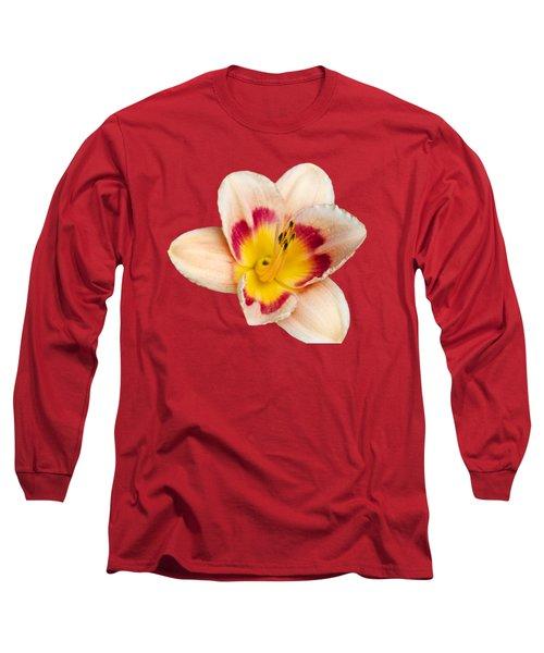 Orange Daylilies Long Sleeve T-Shirt