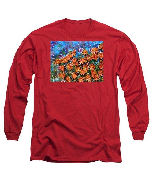 Amazing Orange Long Sleeve T-Shirt