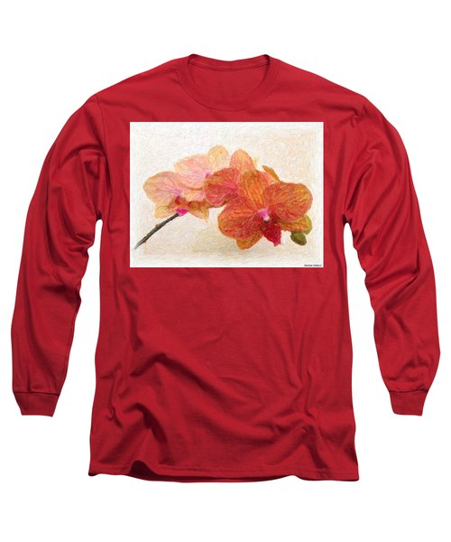 Orchid Beauty Long Sleeve T-Shirt