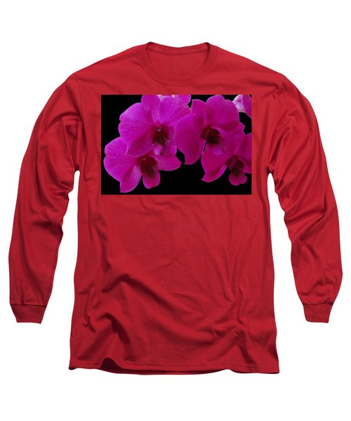 Orchid Song Long Sleeve T-Shirt