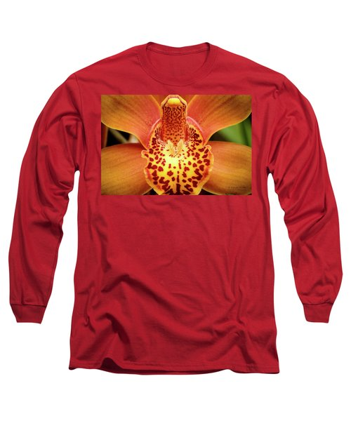 Orchid Splendor Long Sleeve T-Shirt