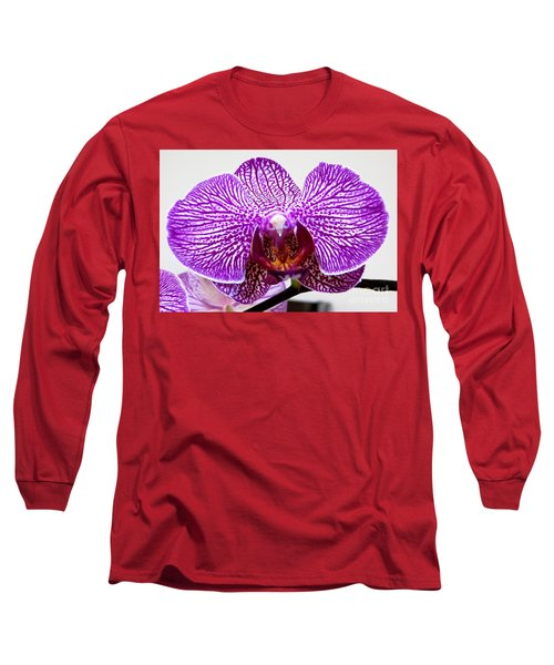 Orchid Long Sleeve T-Shirt by Tim Townsend