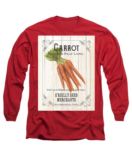 Organic Seed Packet 2 Long Sleeve T-Shirt