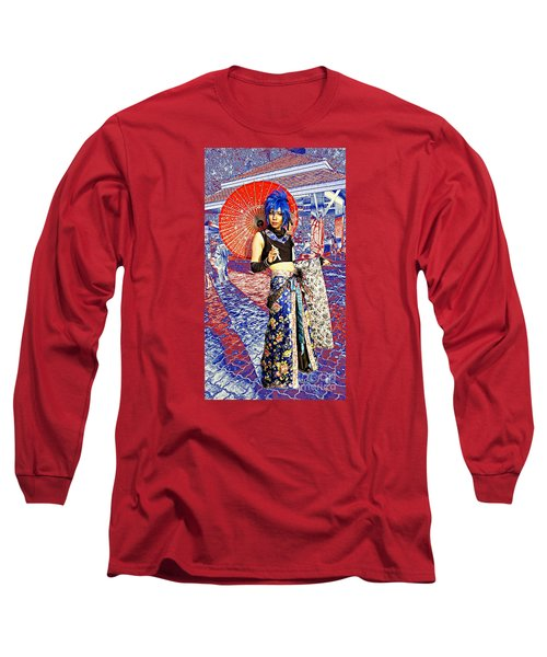 Oriental Cosplayer Long Sleeve T-Shirt
