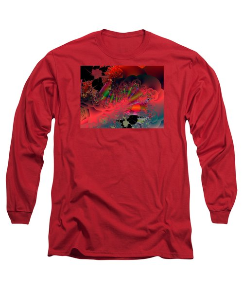 Oriental Inspired Long Sleeve T-Shirt