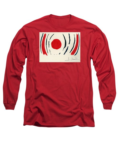 Oriental Sun Long Sleeve T-Shirt