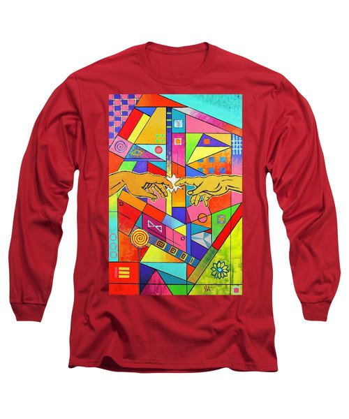 Origin Of Man Long Sleeve T-Shirt