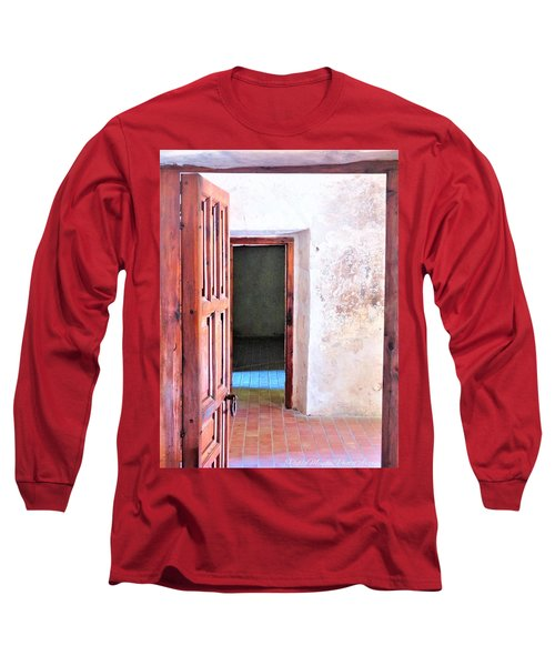 Other Side Long Sleeve T-Shirt by Pablo Munoz