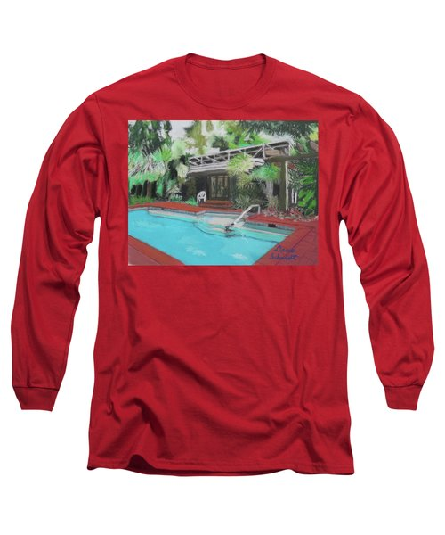Our Back Yard In Orlando Long Sleeve T-Shirt