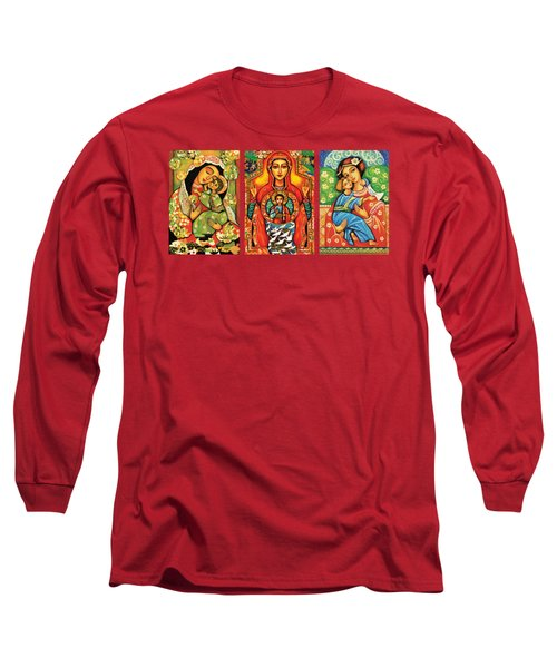 Madonnas With Child Long Sleeve T-Shirt